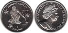 Монета Остров Мэн 1 крона Медно-никель 2013 (Олимпийские игры в Сочи 2014)