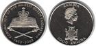 Монета 1000 квач 2003 год Замбия (50-летие коронации Елизаветы II)